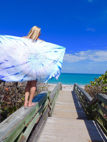 sand cloud beach towel