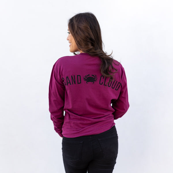 Vineyard Sand Cloud Crab Long Sleeve Recycled - Sand Cloud
