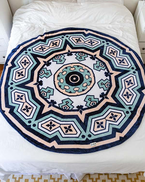 Kimana 60-inch Round Throw Blanket