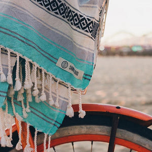 Mint Baja Towel - Sand Cloud