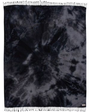 Black Acid Wash XL Plus Blanket