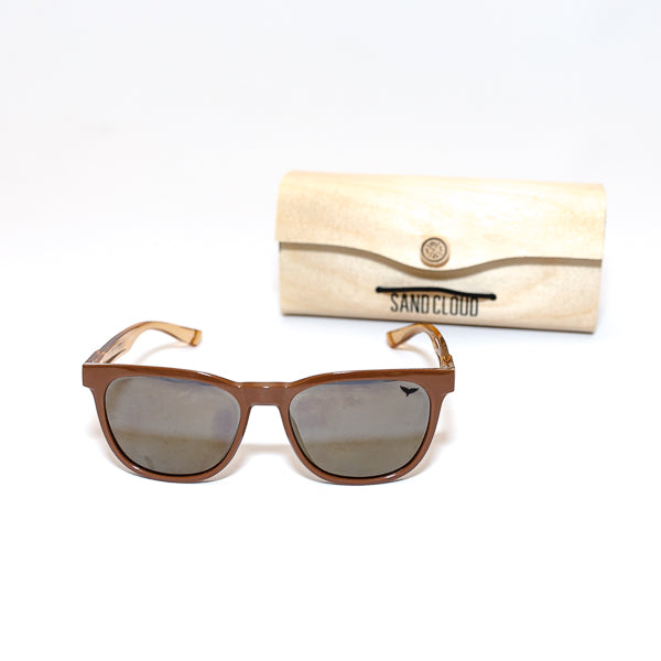 Recycled Brown Sunglasses