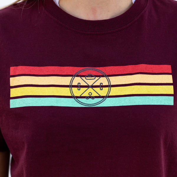 Retro Rainbow Recycled Tee