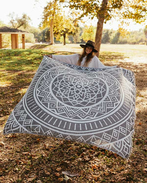 Cool Glacier Mandala XL Towel