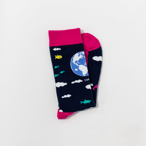 Earth Day Socks