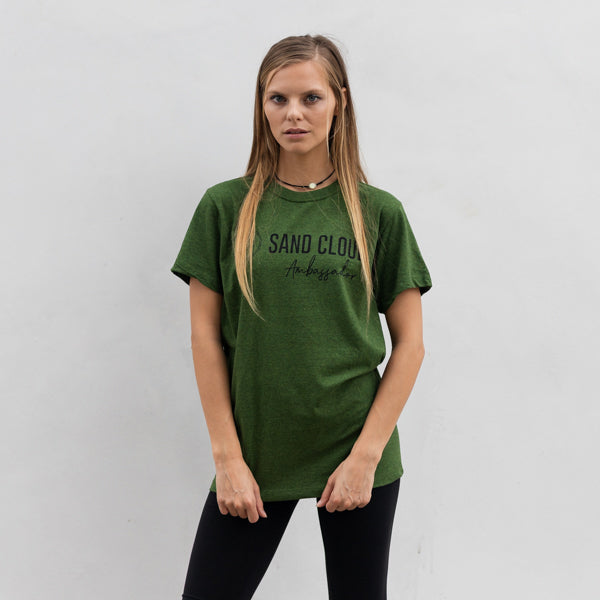 Green Ambassador Short Sleeve Green Recycled - Sand Cloud