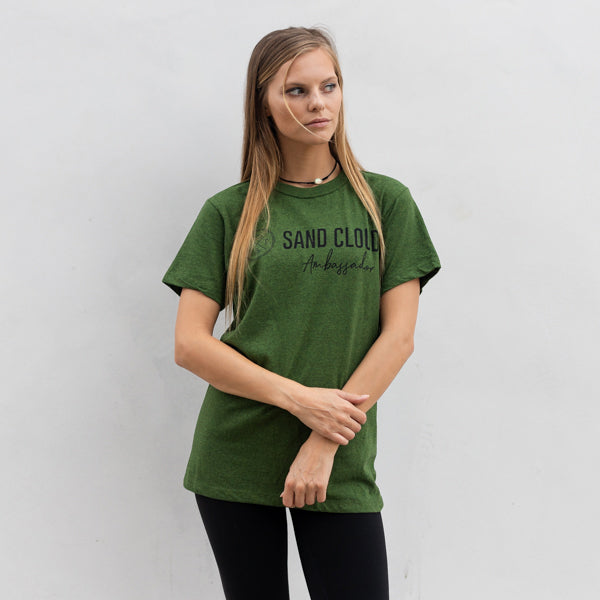 Green Ambassador Short Sleeve Green - Sand Cloud