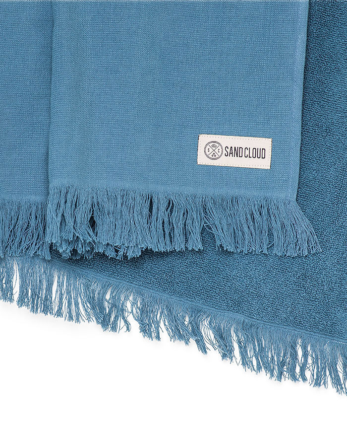 Lake Blue Bath Towel