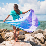 Luna Tie Dye Pocket Beach Towel