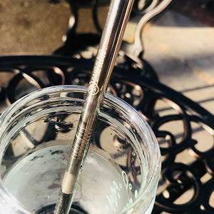 Silver Metal Straw - Sand Cloud