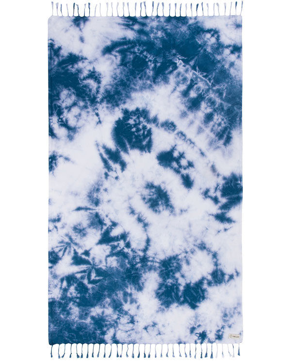 Navy Acid Wash Towel