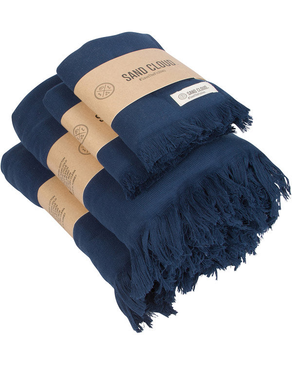Navy Bath Bundle