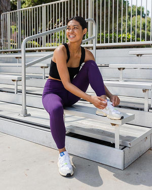 Plum Eco Pocket Leggings