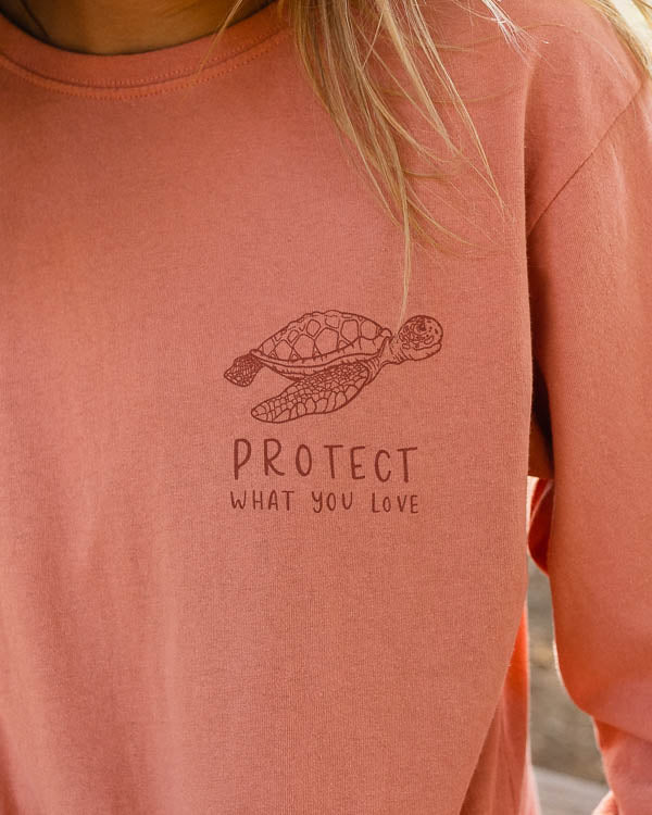 Protect What You Love Sea Turtle Recycled Tee
