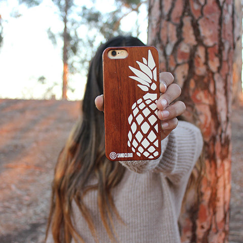 Rose Wood iPhone 6(s) Pineapple Case