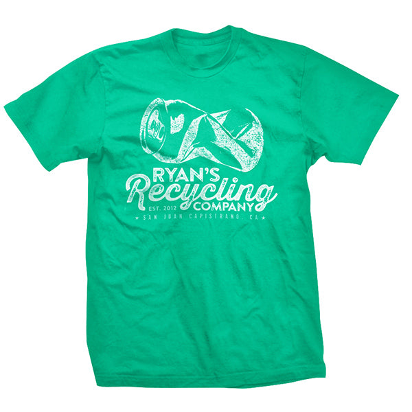Ryan's Recycling Green Men's Tee
