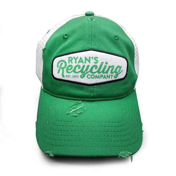 Ryan's Green Hat