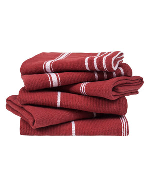 Burgundy Classic Washcloth Bundle