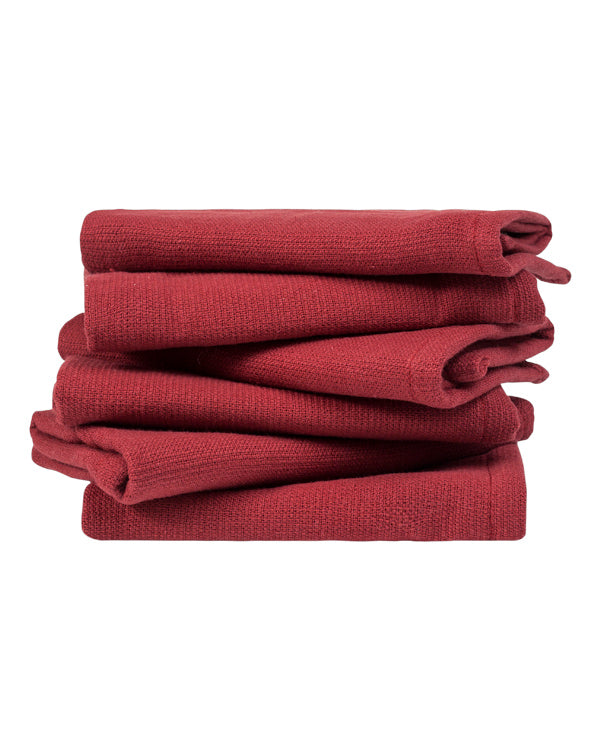 Burgundy Washcloth Bundle