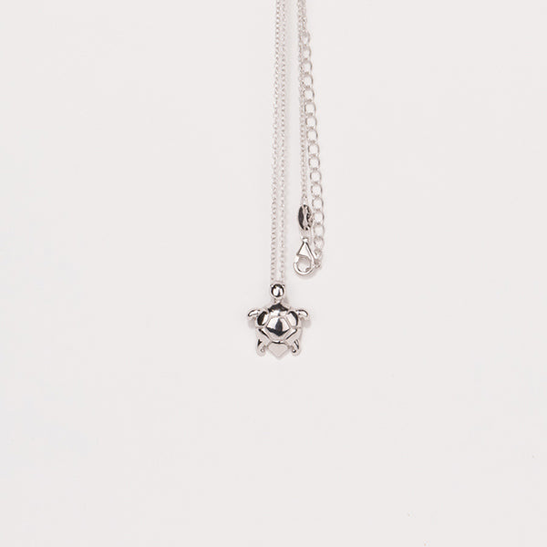Sterling Silver Sea Turtle Necklace - Sand Cloud