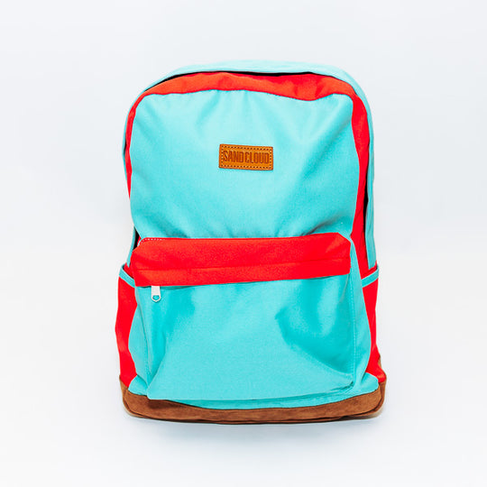 The Sand Cloud Two-Toned Backpack travel product recommended by Sara Jordan Jacobson on Lifney.