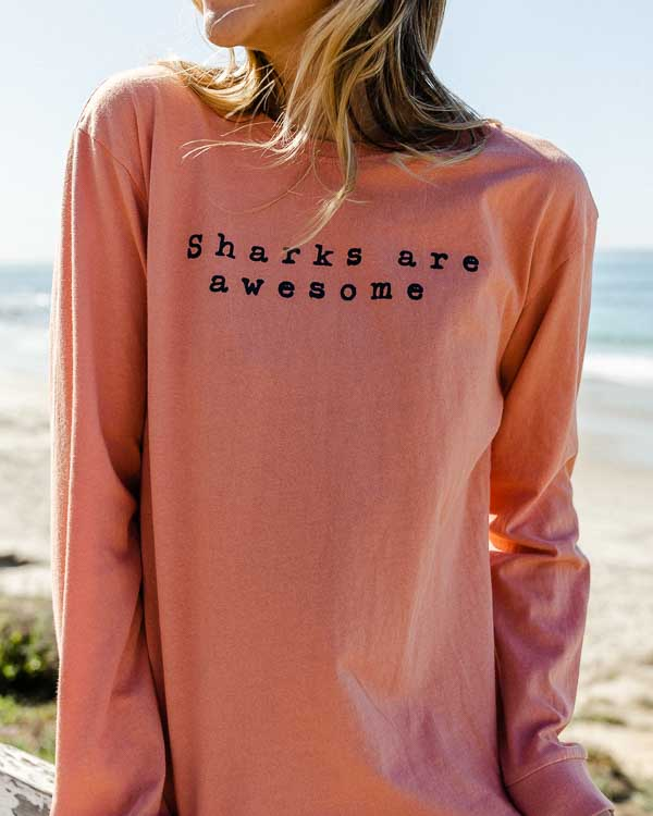 Sharks are Awesome Eco Tee