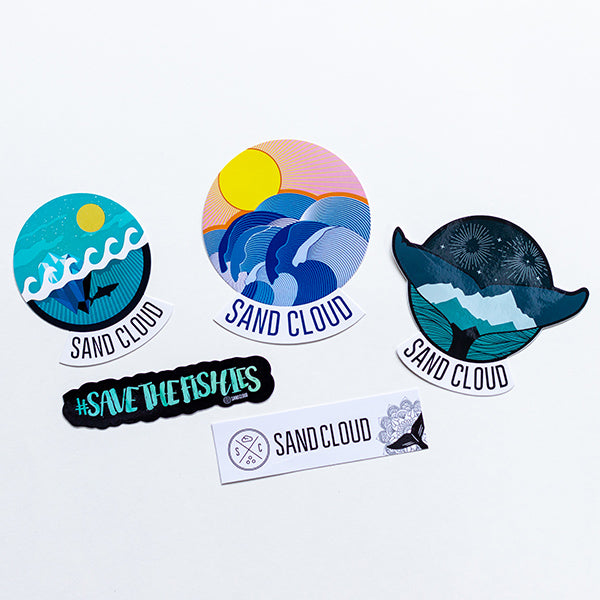 Sticker Pack (5 Pieces) - Sand Cloud