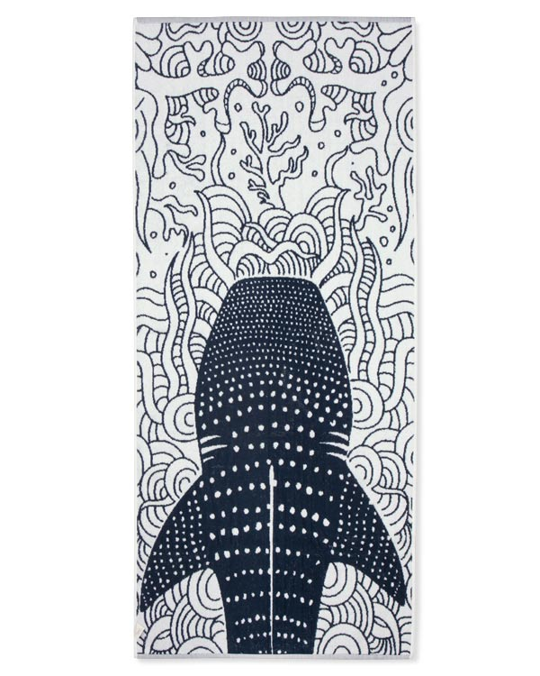 Whale Shark Bath Bundle Navy