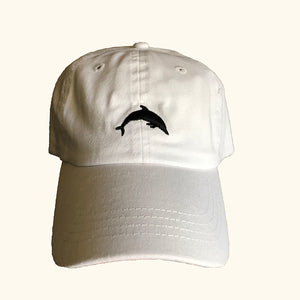 White Dolphin Hat - Sand Cloud