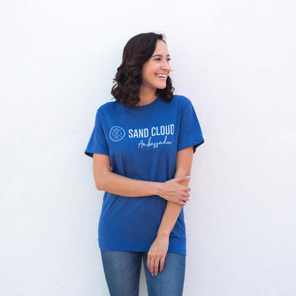 Blue Ambassador Recycled Tee - Sand Cloud