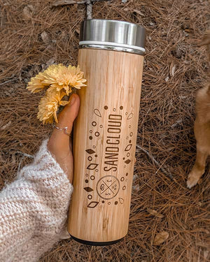 Bamboo Sand Cloud Bottle