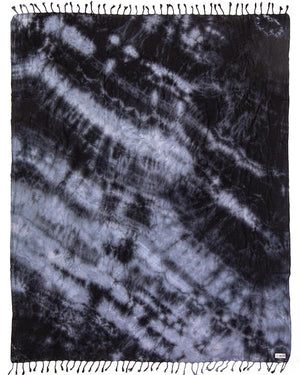 Black Acid Wash XL Towel