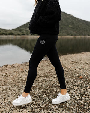 Black Eco Pocket Leggings