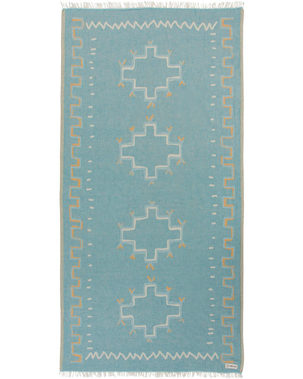 Moroccan Towel Teal