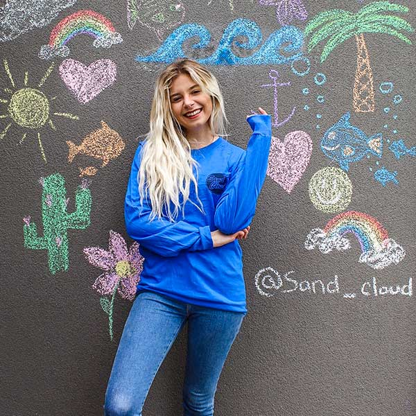 Blue Sand Cloud Anniversary Tee
