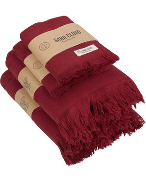Burgundy Bath Bundle