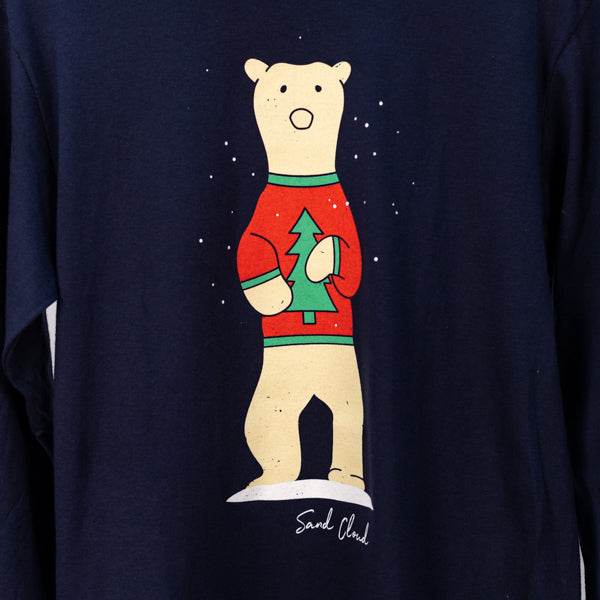 Holiday Sweater Polar Bear Tee