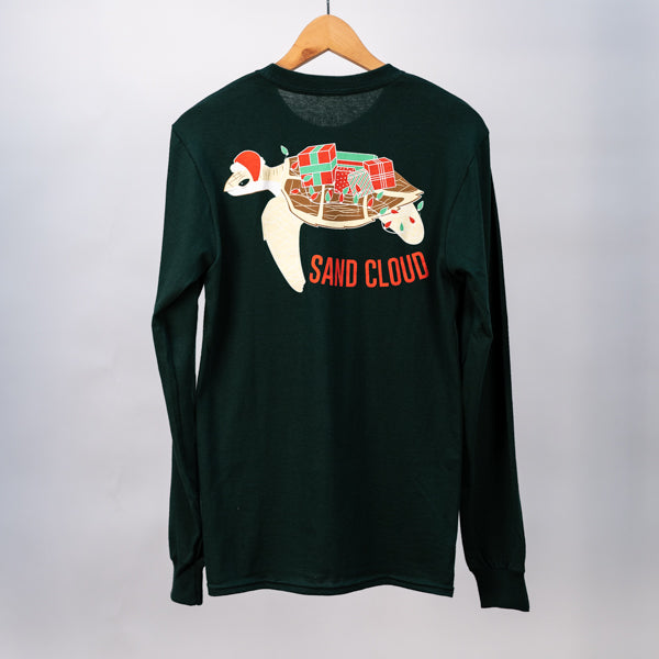 Holiday Lights Sea Turtle Tee