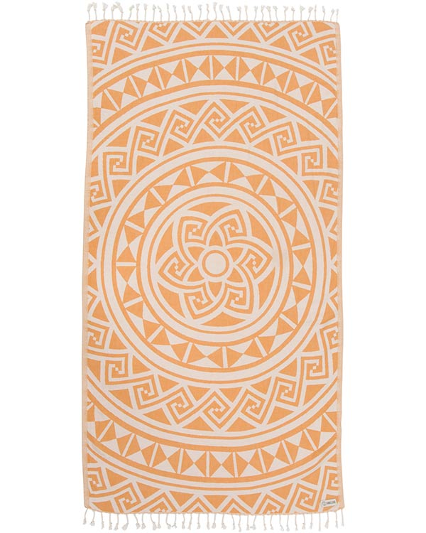 Mandala Honey Towel