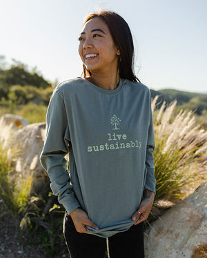 Live Sustainably Organic Tee