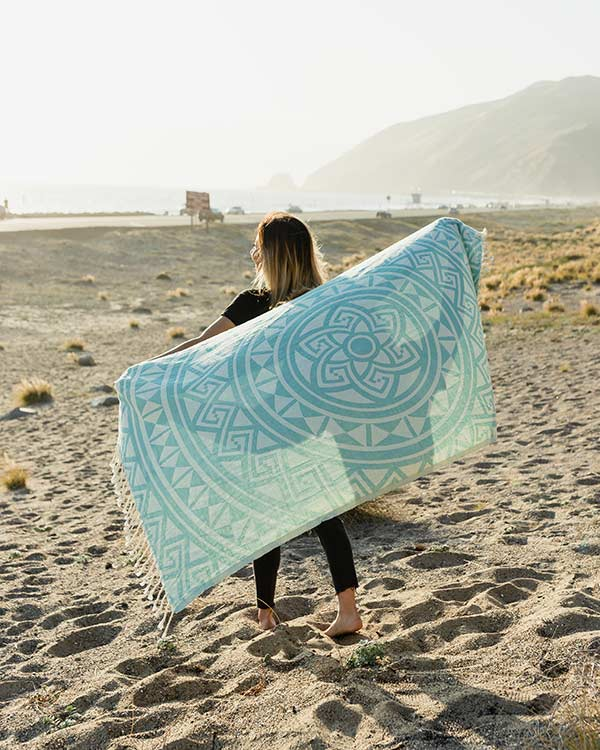Mandala Towel - Sand Cloud