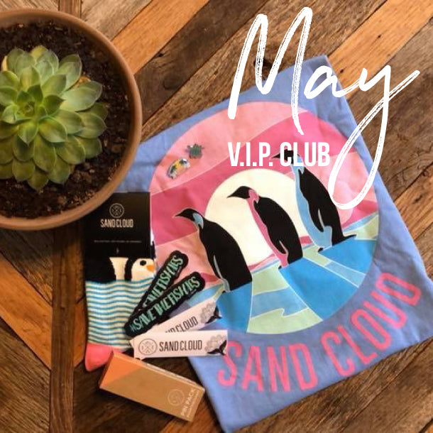 Shirt & Sock Monthly VIP Club - Sand Cloud
