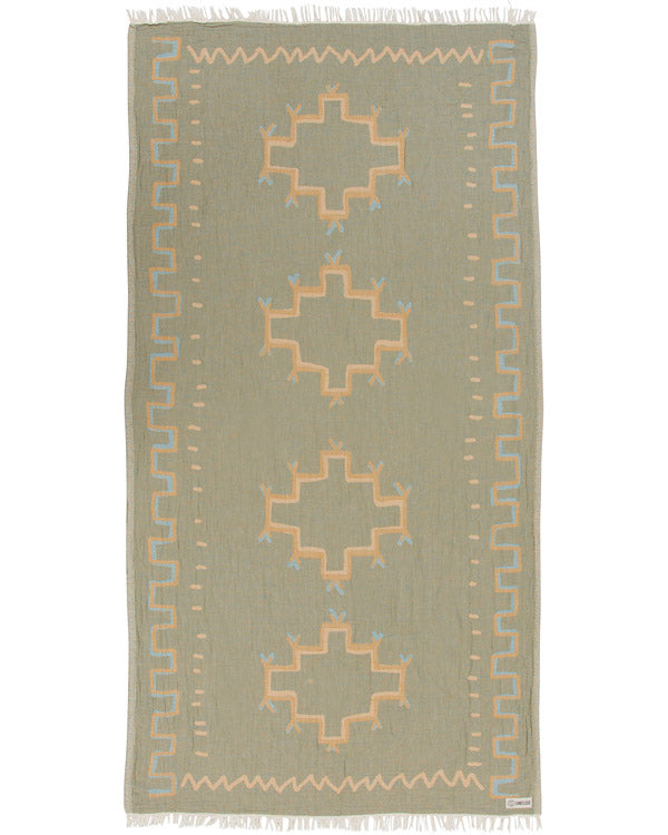 Moroccan Towel Olive