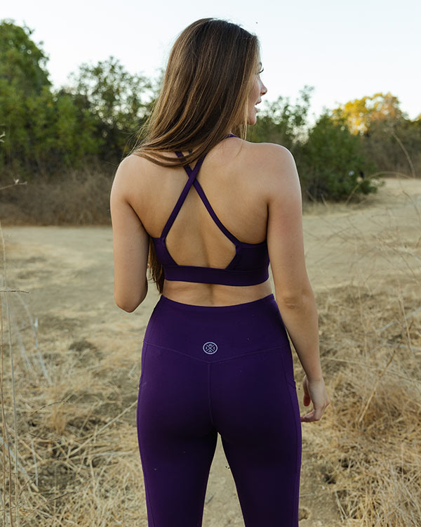 Plum Eco Fashion Sport Bra