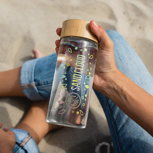 Sand Cloud Rainbow Water Bottle
