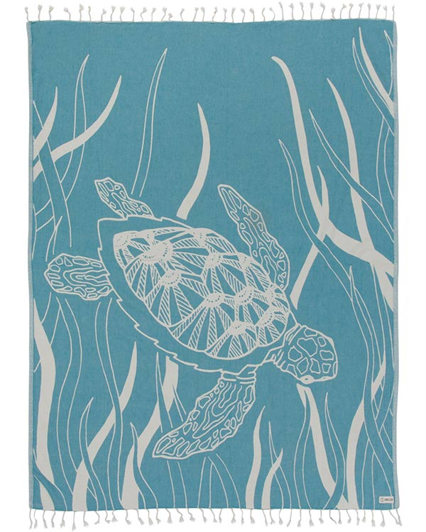 Turquoise Turtle Seagrass Large