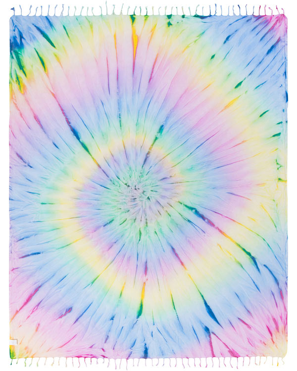 Tie Dye Towel Bundle XL - 4 Pack