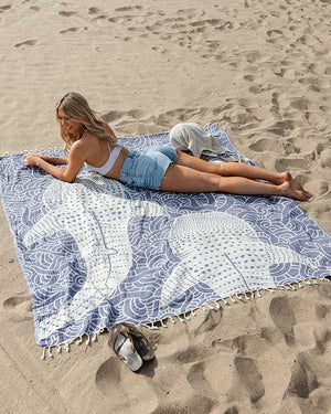 Whale Shark XL Towel - CLICK TO SEE PREORDER SHIP OUT DATES