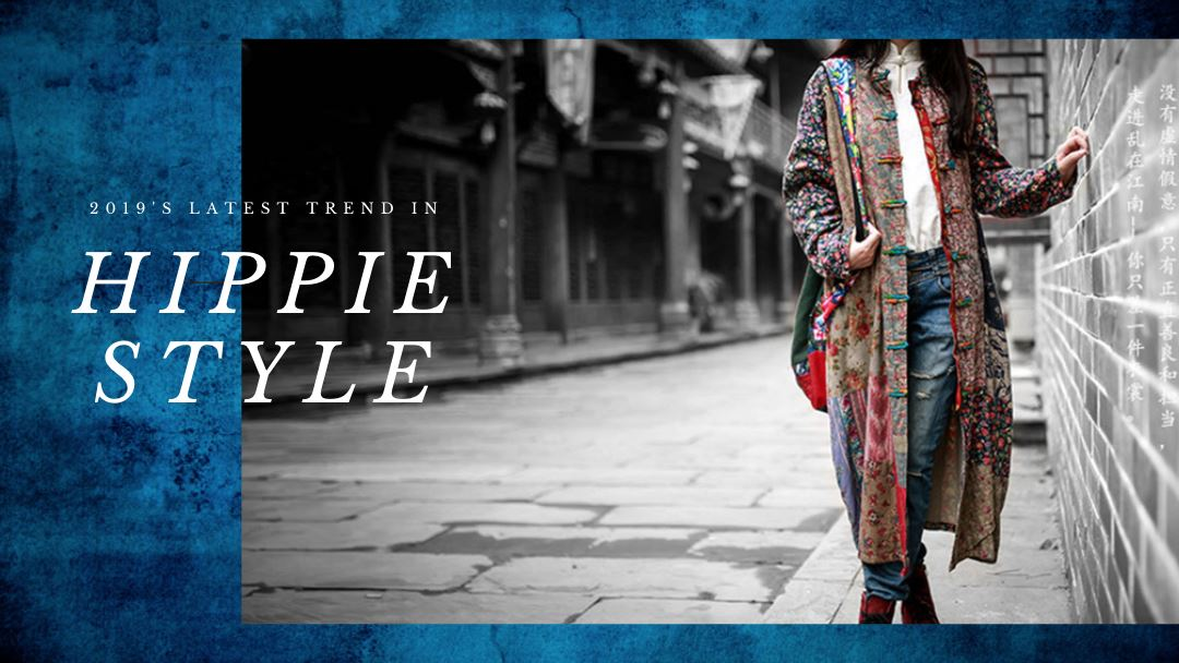 Random Patchwork Hippie Jacket