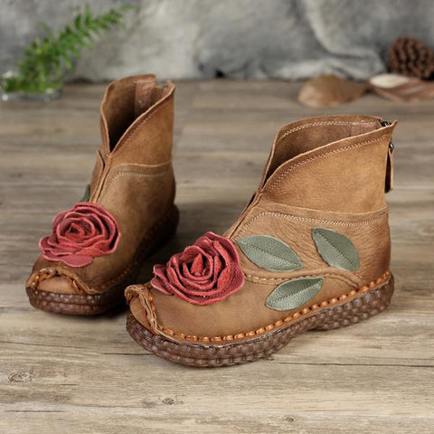 Floral Hippie Shoes and Boots